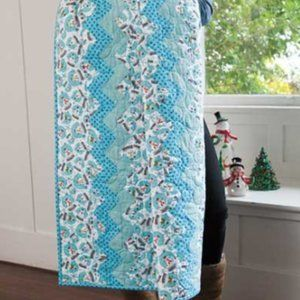 Quilt Kit Teri's Snowglobes 49-1/2'' x 60 1/2''